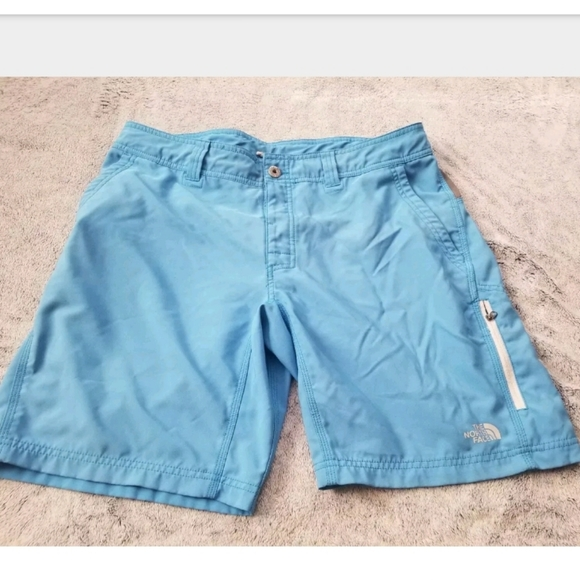 The North Face Other - The North Face Blue & Gray Athletic Shorts Size 36